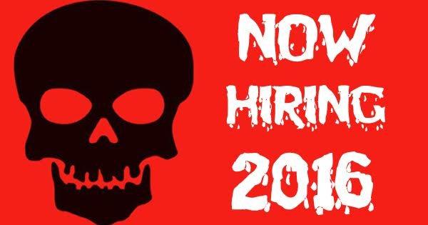 Halloween Season Haunted House Job Opportunities Throughout Ohio