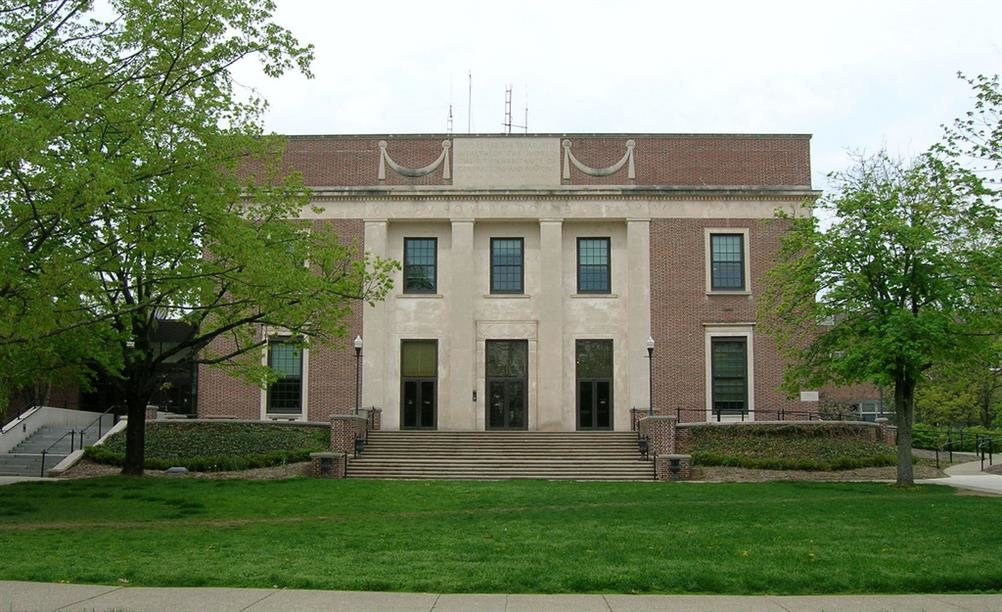 Denison University Library Granville Ohio Real Haunted